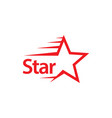 star template design vector image vector image