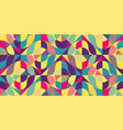 abstract colorful geometric design vector image vector image
