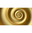 abstract fibonacci golden spiral background vector image