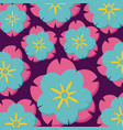 background of beautiful flowers vector image vector image