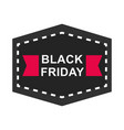 black friday sale and discount sticker layout vector image vector image