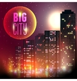City at night vector image vector image