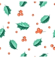 Holly berry vector image vector image