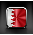 original and simple Bahrain flag isolated in vector image