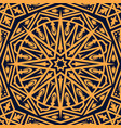 arabic seamless pattern oriental ornament vector image vector image