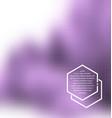 blurred urban background scene vector image vector image