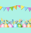 ester greeting card vector image vector image