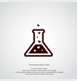 potion icon simple magic element chemistry vector image vector image