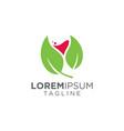 Wine leaf logo design inspiration