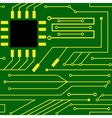 microchip background cpu computer vector image