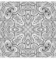 Abstract decorative ethnic hand drawn vector image vector image