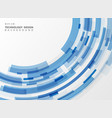 abstract technology blue stripe line geometric vector image vector image