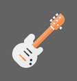 bass guitar icon music instrument concept vector image vector image