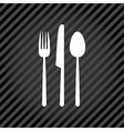 black menu vector image