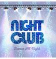 Disco background night club vector image vector image