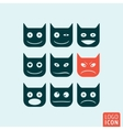 Emoticons icon isolated vector image