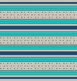 retro blue pattern with horizontal stripes vector image vector image