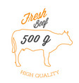 bbq fresh beef 500g high quality image vector image vector image