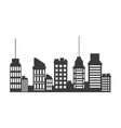 buildings skyscrapers business commercial or vector image vector image