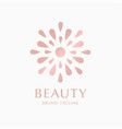 logo concept for luxury business vector image vector image