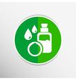 Macadamia natural oil vector image