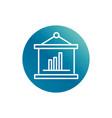office presentation report diagram financial vector image vector image