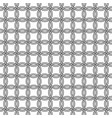 seamless mesh pattern round rings vector image