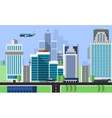 Skyscraper Offices Background vector image vector image