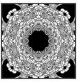 Black mono color Adult vector image vector image