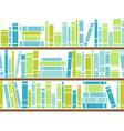 bookshelf seamless pattern