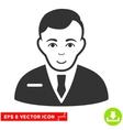 Businessman EPS Icon vector image