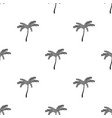 mexican fan palm icon in black style isolated on vector image vector image
