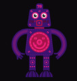 stand up robot vector image vector image