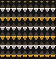 1960s style dot stripe seamless pattern vector image