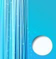 abstract blue background with lines vector image vector image