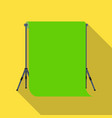 background standhromakey making a movie single vector image