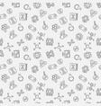 cloning linear pattern human vector image