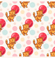 funny cartoon kittens vector image vector image