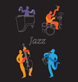 jazz 5 vector image