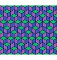 Multicolored pattern of hexagons eps 10 vector image vector image