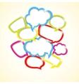design element colorful bubbles vector image vector image