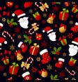 Merry christmas seamless pattern decoration