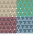 Modern Pattern Set vector image vector image