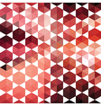 Retro pattern of geometric shapes hexagon vector image vector image