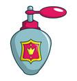royal perfume icon cartoon style vector image vector image
