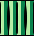 vertical green shades stripes print vector image vector image