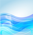 Water waves background vector image