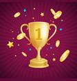 winner success achievement concept vector image
