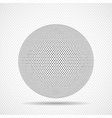 abstract sphere icon squares pixelated vector image vector image
