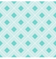 Blue rhombus geometric seamless pattern vector image vector image
